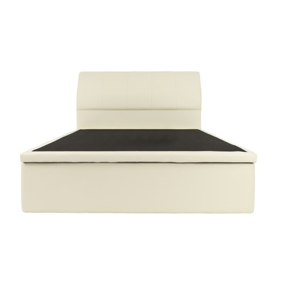 Shirley Storage Bed - Cream (Faux Leather) - Image 1