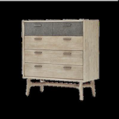 Hendrix Tall Dresser 1m - Image 2