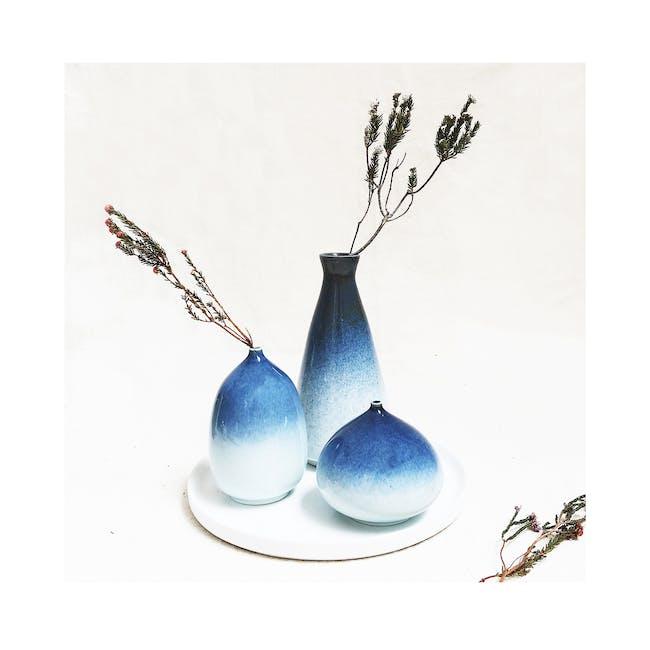 Galaxy Glaze Vase - Flat Bud - 1