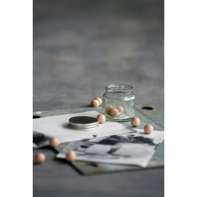 Femme Woods Round Magnets - Natural (Set of 12) - 1
