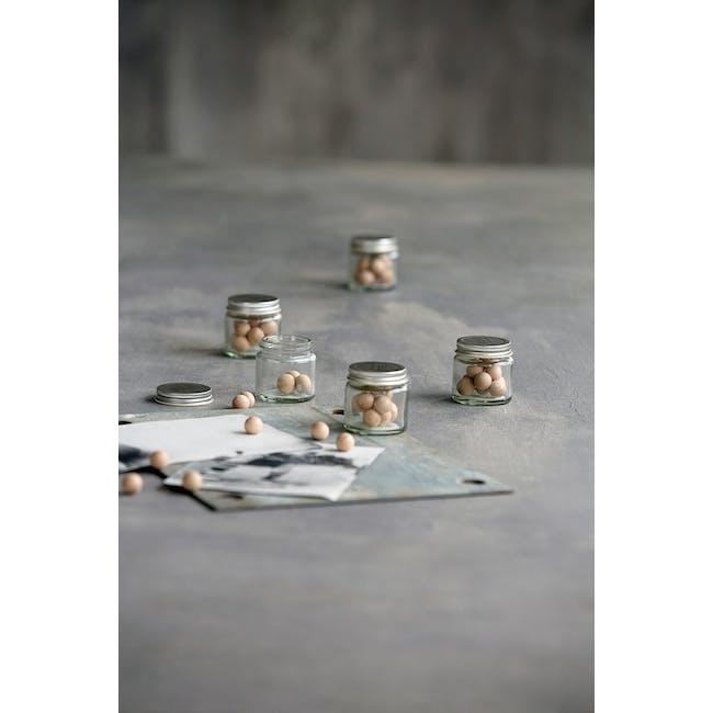 Femme Woods Round Magnets - Natural (Set of 12) - 2