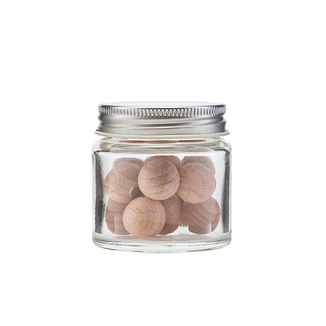 Femme Woods Round Magnets - Natural (Set of 12) - 0
