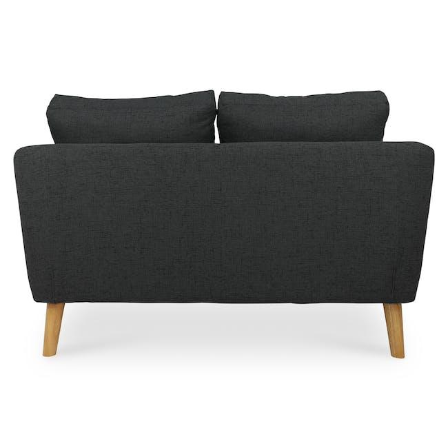 Hana2 Seater Sofa - Charcoal - 4