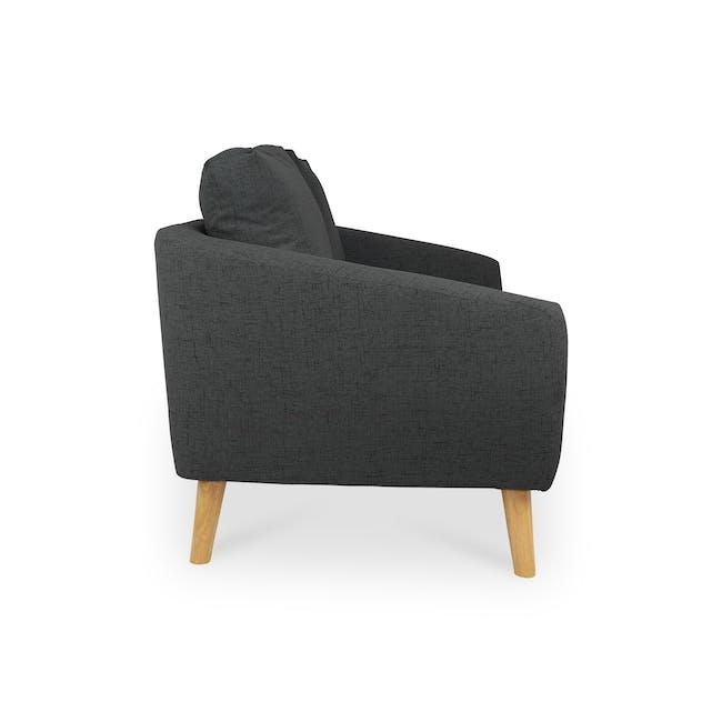 Hana2 Seater Sofa - Charcoal - 5