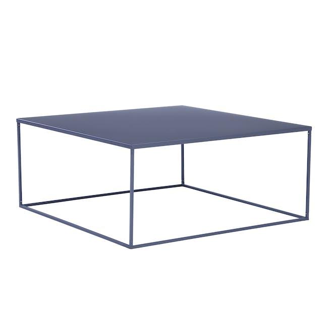 Ashe Square Coffee Table - Iridium - 0