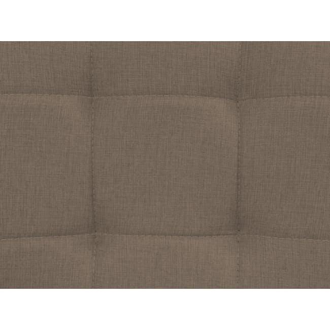 Tucson 3 Seater Sofa with Tucson Armchair - Chestnut (Fabric) - 5