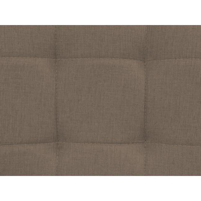 Tucson 3 Seater Sofa - Cocoa, Chestnut (Fabric) - 5