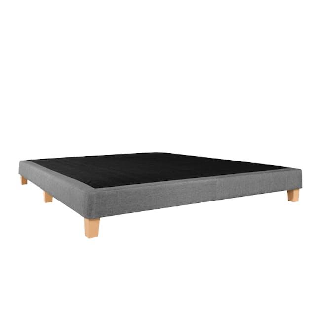ESSENTIALS Super Single Divan Bed - Grey (Fabric) - 2