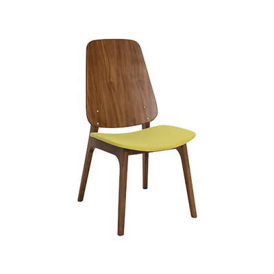Maddie Dining Chair - Walnut, Pistachio - Image 1