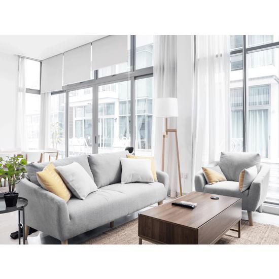 Norden - Hana 3 Seater Sofa- Light Grey