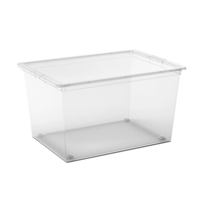 C Box Transparent with Lid - XL - 0