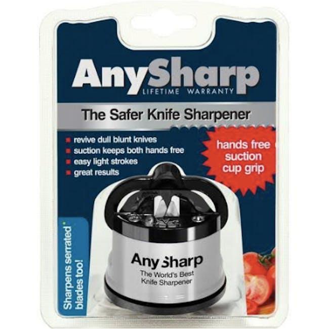 AnySharp Knife Sharpener - Silver - 3