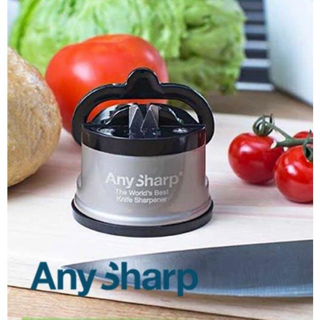 AnySharp Knife Sharpener - Silver - 2