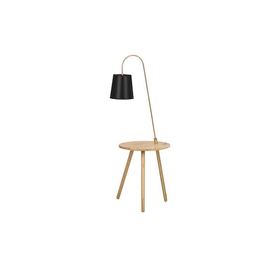 Springbud - Alonso Floor Lamp / Side Table