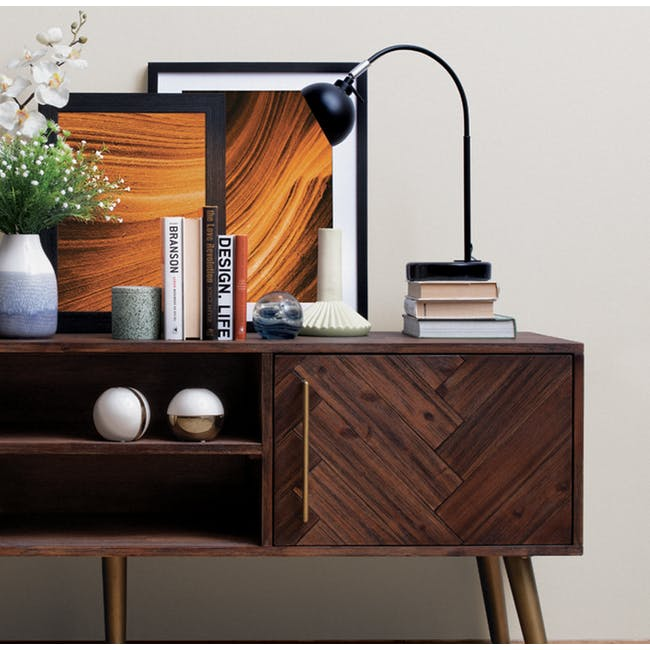 Cadencia TV Console 1.65m with Cadencia Twin Drawer Coffee Table - 2