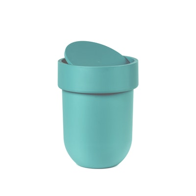Touch Can with Lid - Surf Blue