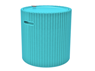 Cool Stool - Turquoise - Image 1