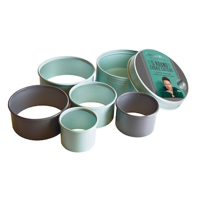 Jamie Oliver 5 pcs. Round Cookie Cutters Set - Image 1