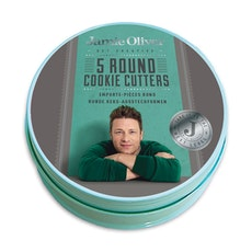Jamie Oliver 5 pcs. Round Cookie Cutters Set