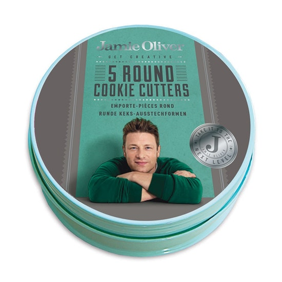 Jamie Oliver - Jamie Oliver 5 pcs. Round Cookie Cutters Set