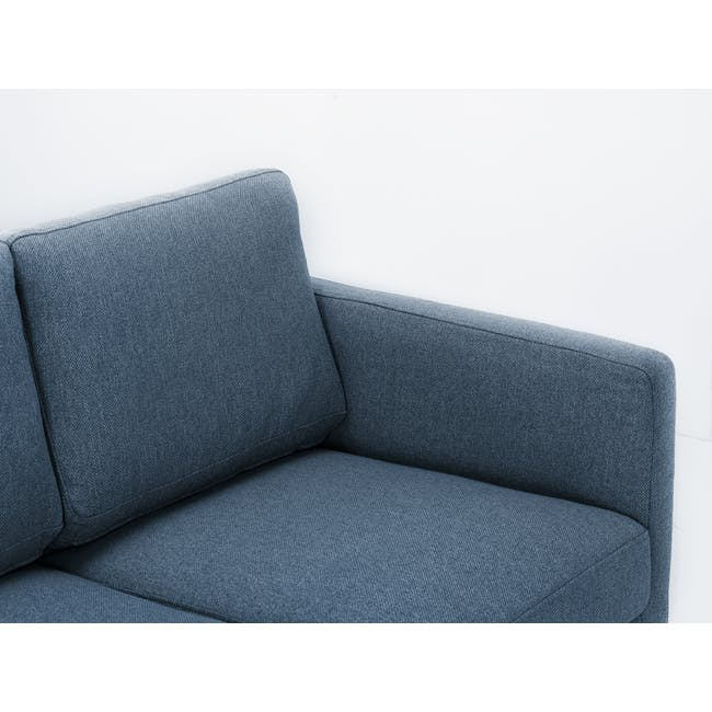 Declan 3 Seater Sofa - Walnut, Admiral Blue - 5
