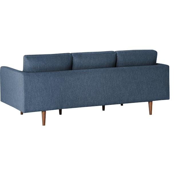 Declan 3 Seater Sofa - Walnut, Admiral Blue - 4