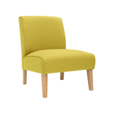 Maya Lounge Chair - Natural, Pistachio - Image 1