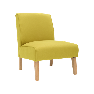 Maya Lounge Chair - Natural, Pistachio - Image 2