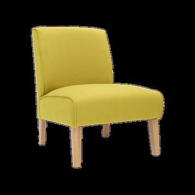 Maya Lounge Chair - Natural, Pistachio - Image 2
