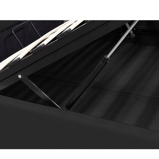 Nolan Single Storage Bed - Hailstorm - 2