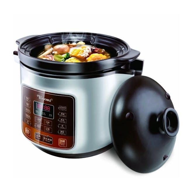 TOYOMI 4.0L Micro-com High Heat Stew Cooker HH 6080 - 1