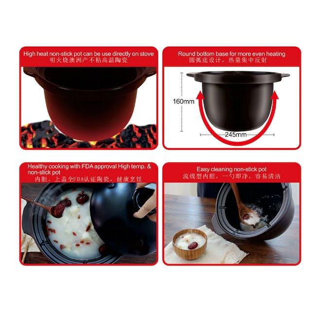 TOYOMI 4.0L Micro-com High Heat Stew Cooker HH 6080 - 2