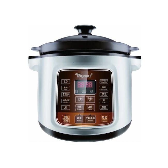TOYOMI 4.0L Micro-com High Heat Stew Cooker HH 6080 - 0
