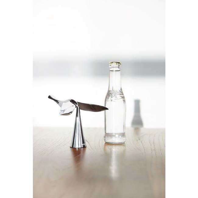 Tipsy Bottle Opener - Chrome - 7