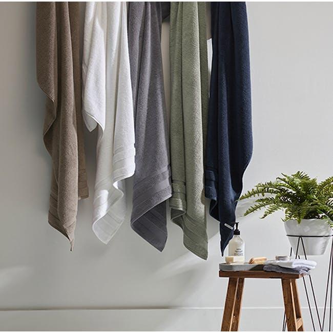 Canningvale Amalfitana 7pc Towel Set - Shiraz - 1