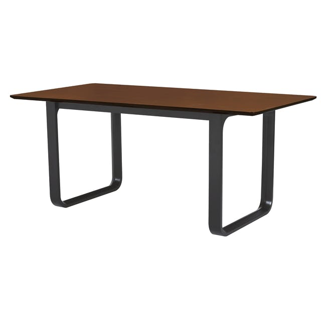 Ulmer Dining Table 1.8m - Walnut - 0