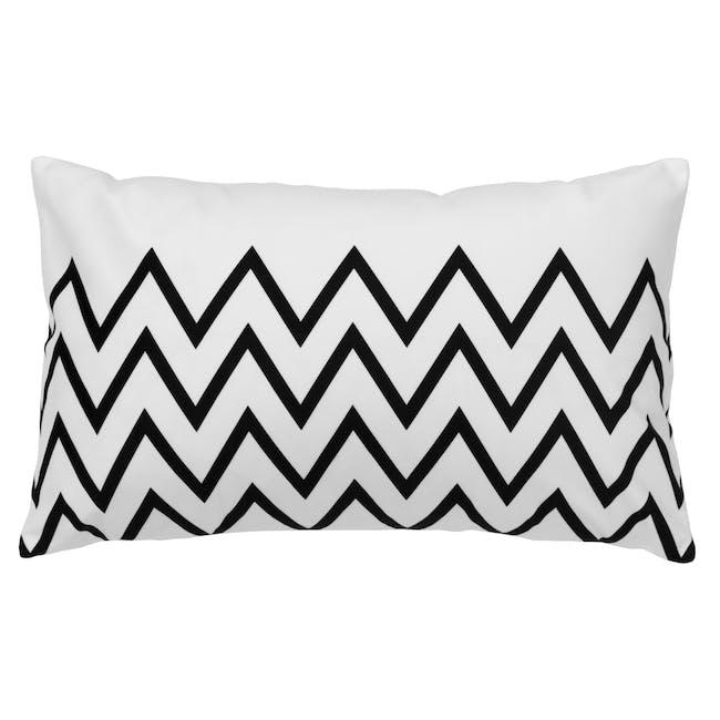 Geo Lumbar Cushion - Chevron - 0