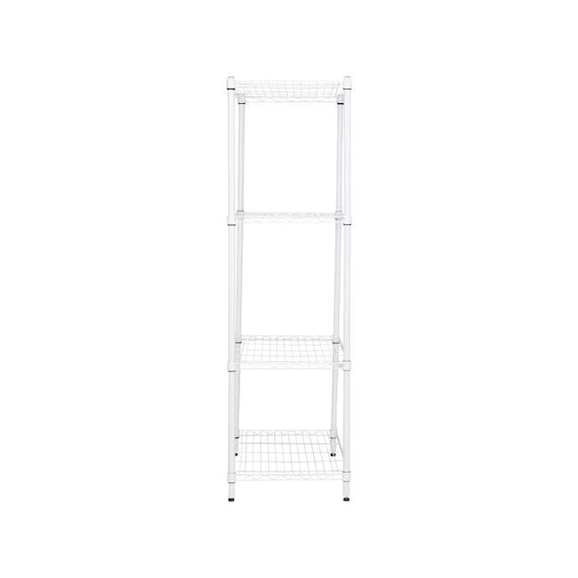 Walden 4-Tier Storage Shelf 90 cm - White - 2