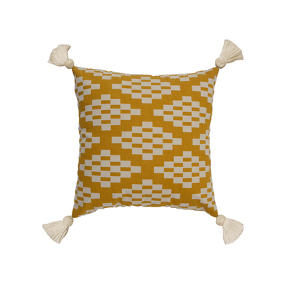 Enzo Cushion - Yellow - Image 2