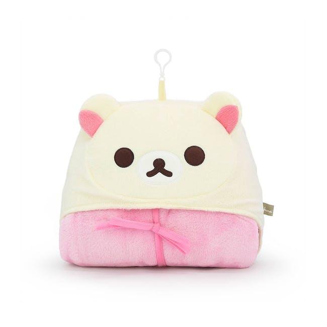 Korilakkuma Blanket Cushion With Hood - 0