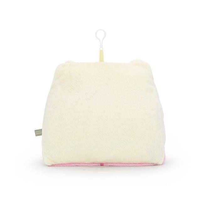 Korilakkuma Blanket Cushion With Hood - 1