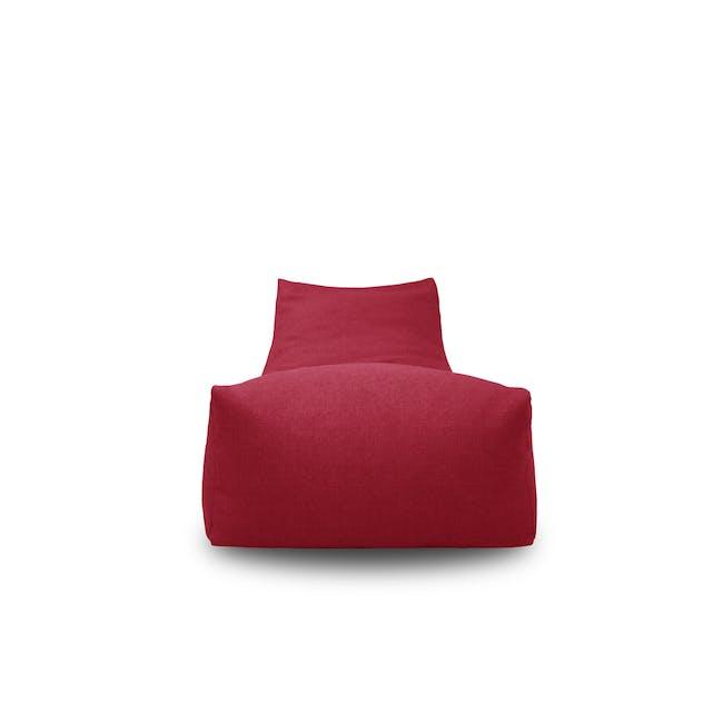 Daisy Bean Bag - Red - 2
