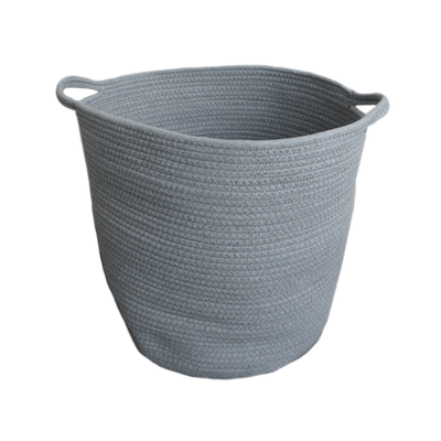 Celine Cotton Rope Bucket - Grey - Image 2