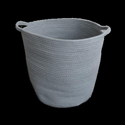 Celine Cotton Rope Bucket - Grey - Image 2