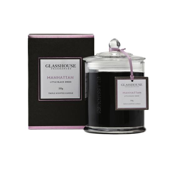 Glasshouse Fragrances - Manhanttan Candle - Little Black Dress