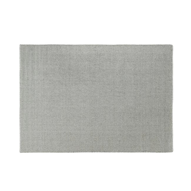 Vector Flatwoven Rug 2.4m by 1.7m - Grey - 0