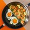 Meyer Accent Series Ultra-Durable Nonstick 20cm Frypan With Lid - 7