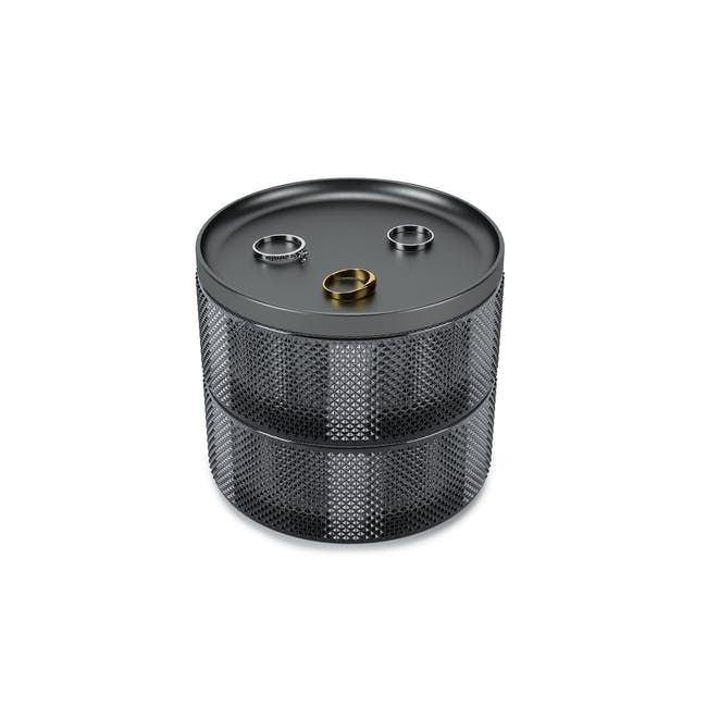 Tesora Glass Box - Smoke - 0