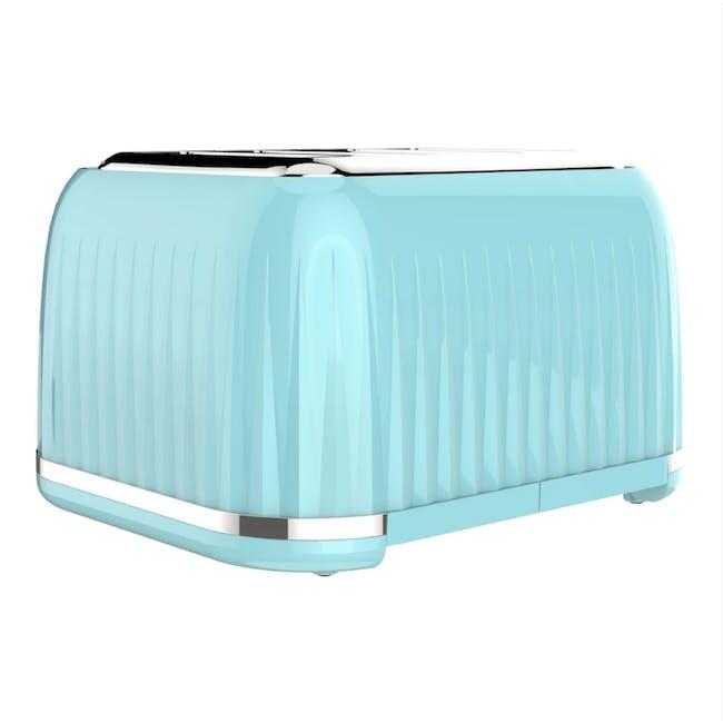 Odette Jukebox 4-Slice Bread Toaster - Mint - 2