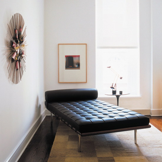 Day Bed.Barcelona Daybed Italian Leather